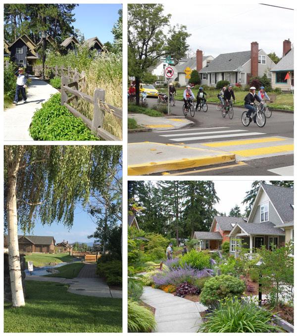 Photo: walkable neighborhoods.