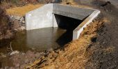 Example Culvert|The Crystal Springs bridge will be replaced with a culvert similar to this one.